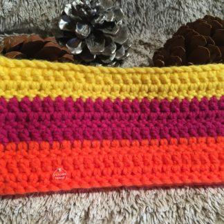 Bandeau laine tricolore